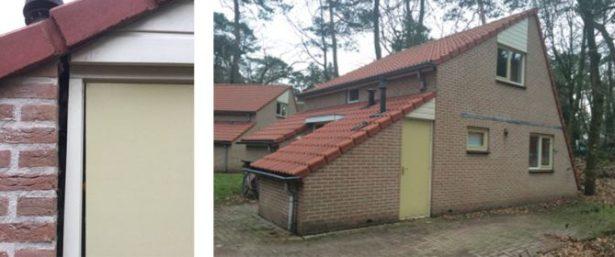 Verzakte bungalow weer mooi recht