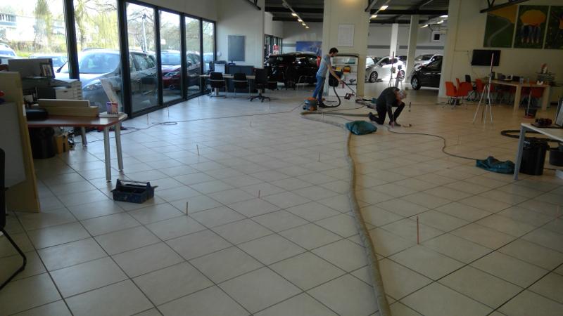 URETEK Floorlift werkzaamheden in Lelystad