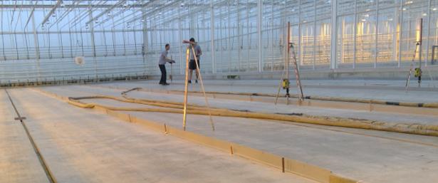 La méthode URETEK FloorLift redresse les sols affaissés d'une entreprise spécialisée dans la sélection de semences potagères