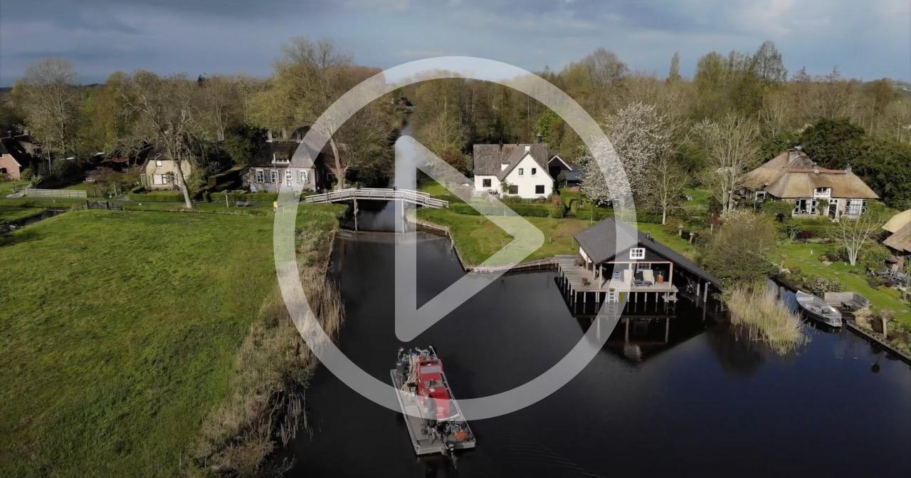 Woonboerderij Giethoorn op bijzondere locatie